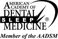 Member of American Academy of Dental Sleep Medicine